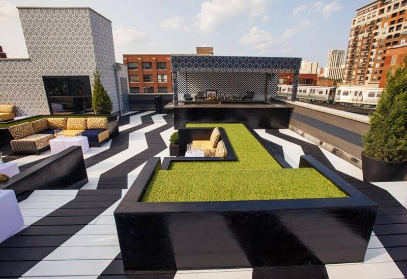 The Kensington Roof Garden & Lounge - ChicagoRooftopBars