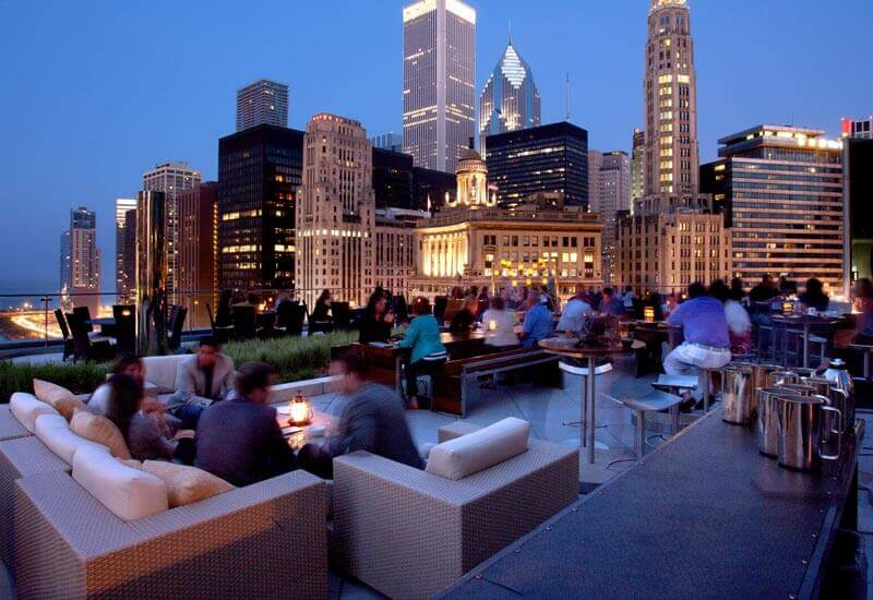 terrace at trump chicagorooftopbars